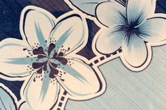Bezszwowy abstrakcjonistyczny kwiat Obraz Royalty Free