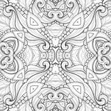 Bezszwowy Abstrakcjonistyczny Plemienny wzór (wektor) ilustracja wektor
