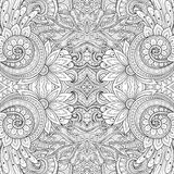 Bezszwowy Abstrakcjonistyczny Plemienny wzór (wektor) Zdjęcie Royalty Free
