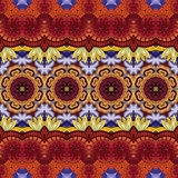 Bezszwowy Abstrakcjonistyczny Plemienny wzór (wektor) Fotografia Stock