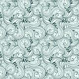 Bezszwowy abstrakcjonistyczny przypadkowy pociągany ręcznie wzór Zdjęcia Stock