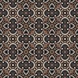 Bezszwowy abstrakcjonistyczny rocznika tło barwił mozaika symetrycznego wzór na textured brezentowym kolorowym kwiatu wystroju pr ilustracja wektor