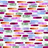 Bezszwowy abstrakcjonistyczny tło, ręcznie malowany tekstura, akwarela obraz ilustracji
