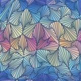 Bezszwowy abstrakcjonistyczny wektoru wzór, okulistyczny złudzenie Zdjęcie Stock