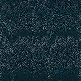 Bezszwowy abstrakcjonistyczny wektoru wzór z vacy lampasami rysującymi z kropkami ilustracja wektor