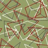 Bezszwowy abstrakta wzór Zdjęcia Royalty Free