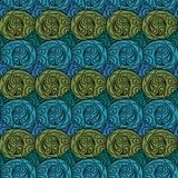 Bezszwowy abstrakta wzór Obrazy Royalty Free