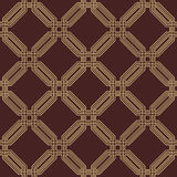 Bezszwowy abstrakta wzór Z ośmiobokami Zdjęcie Stock