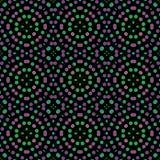 Bezszwowy abstrakta wzoru tło z różnorodność barwionymi okręgami ilustracja wektor