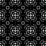 Bezszwowy abstrakta wzoru tło z różnorodność barwionymi okręgami royalty ilustracja