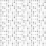 Bezszwowy abstrakta wzoru tło z różnorodność barwionymi okręgami ilustracji