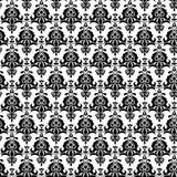 Bezszwowy adamaszka wzór Obraz Royalty Free