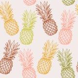 Bezszwowy ananas Obraz Stock