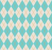 Bezszwowy argyle wzór. Obraz Stock