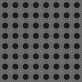 Bezszwowy art deco okręgu połączenia wzoru tekstury tło ilustracji