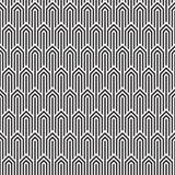Bezszwowy art deco wzoru tło Art Deco tło royalty ilustracja