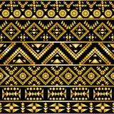 Bezszwowy aztec wzoru art deco styl Zdjęcia Royalty Free