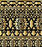 Bezszwowy aztec wzoru art deco styl Obraz Royalty Free