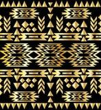 Bezszwowy aztec wzoru art deco styl Obrazy Stock