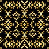 Bezszwowy aztec wzoru art deco styl Zdjęcie Stock