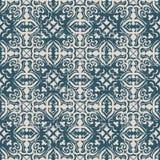 Bezszwowy będący ubranym out antykwarski tła 057_spiral round przecinający kalejdoskop Obraz Royalty Free