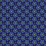 bezszwowy błękit abstrakcjonistyczny wzór Fotografia Royalty Free