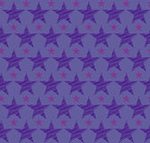 Bezszwowy błękitny tło z błękitnymi gwiazdami 10 eps Obraz Royalty Free