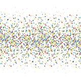 bezszwowy barwiony confetti tło royalty ilustracja