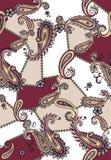 Bezszwowy barwiony Paisley wz?r, ?ata dla druku, tkanina, tekstylny projekt ilustracji