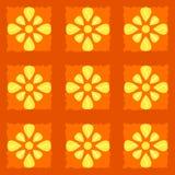 Bezszwowy barwiony wzór dla tła ściągania ilustracj wizerunek przygotowywający wektor Zdjęcie Stock
