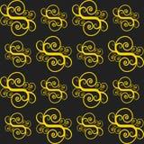 Bezszwowy barwiony wzór dla tła Zdjęcie Stock