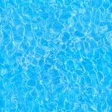 Bezszwowy basen wody refrakci wzór fotografia stock