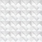 Bezszwowy biały trójboka wzoru projekt Fotografia Royalty Free