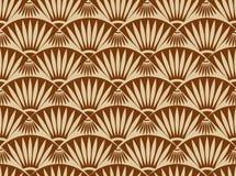 Bezszwowy Brown wzór Zdjęcie Stock