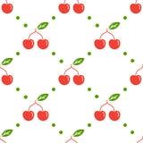 bezszwowy cherry wzoru Zdjęcie Stock