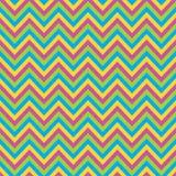 Bezszwowy colourful szewronu wzoru tło ilustracji