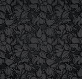 bezszwowy czerń abstrakcjonistyczny wzór ilustracja wektor