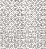 Bezszwowy czerń - biały geometryczny wzór Obraz Stock