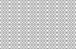 Bezszwowy czerń wzór z liniami, wektor Obrazy Royalty Free