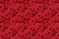 Red Buttons Obrazy Stock