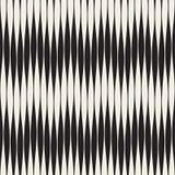 Bezszwowy czochra wzór Wielostrzałowa wektorowa tekstura Falista grafika ilustracja wektor