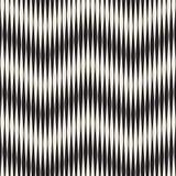 Bezszwowy czochra wzór Wielostrzałowa wektorowa tekstura Falisty graficzny tło Prości lampasy ilustracja wektor
