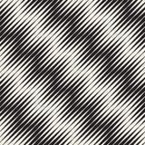 Bezszwowy czochra wzór Wielostrzałowa wektorowa tekstura Falisty graficzny tło Prości lampasy ilustracji