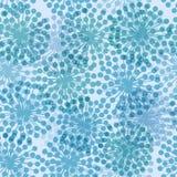 Bezszwowy Dandelion tło Fotografia Royalty Free