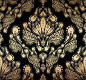 bezszwowy dekoracyjny kwiecisty ornament Obraz Stock