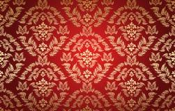 bezszwowy dekoracyjny kwiecisty ornament Zdjęcie Royalty Free