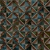 Bezszwowy dekoracyjny rocznika wzoru płytki zbliżenie zdjęcie royalty free