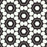 Bezszwowy deseniowy abstrakcjonistyczny geometryczny wielobok Zdjęcia Royalty Free