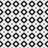 Bezszwowy deseniowy geometryczny kwiecisty dachówkowy projekt royalty ilustracja