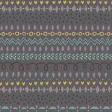 Bezszwowy Deseniowy Kolorowy Siwieje Zdjęcia Stock